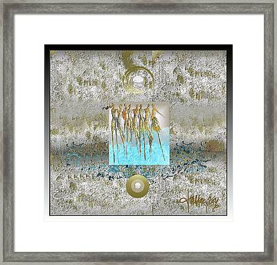 Women Chanting - Song Of Europa Framed Print