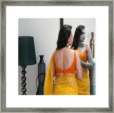 Women Grooming Obsession Esthticienne  Beautician Esthticien Fashion Couture  Framed Print by Navin Joshi