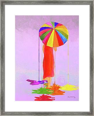 Women In Color 3 Framed Print by Ken Figurski