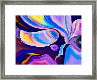 Women Framed Print by Karen Showell