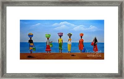 Women Of Africa  Framed Print