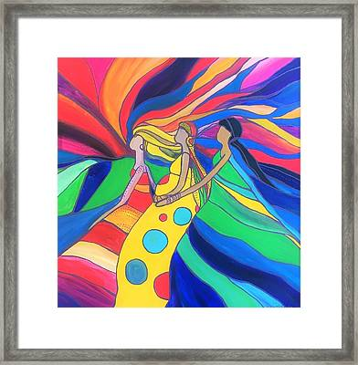 Women Of Courage 8 Framed Print by Kelly Simpson