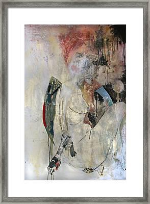 Women Who Run With The Wolves 1. Baba Yaga Framed Print by Reka Barcza Nagyalasonyi