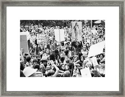 Womens Lib, 1971 Framed Print