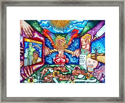 Womens Lib Framed Print by Gail Zavala