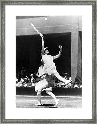 Women's Tennis At Wimbledon Framed Print