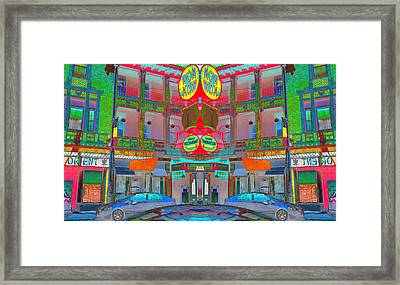 Framed Print featuring the photograph Won Kow, Wow 1 by Marianne Dow
