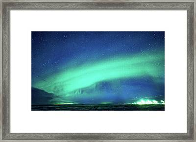 Wonder In The Sky Framed Print by Svetlana Sewell