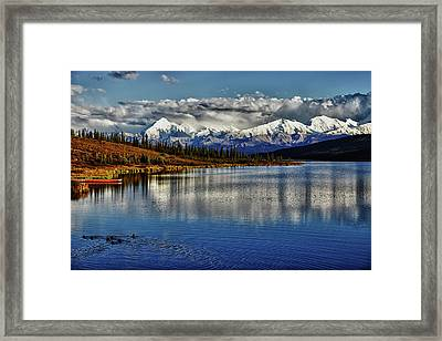 Wonder Lake IIi Framed Print by Rick Berk