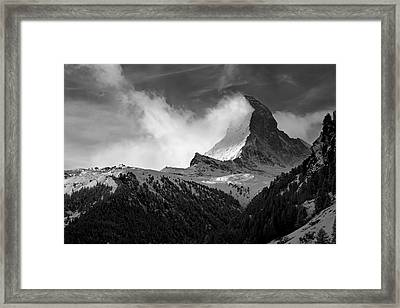 Wonder Of The Alps Framed Print