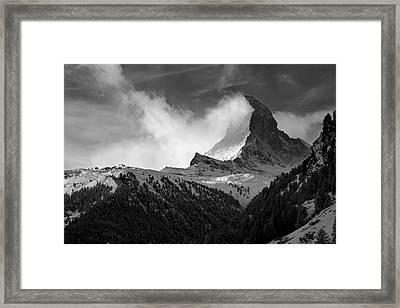 Wonder Of The Alps Framed Print by Neil Shapiro