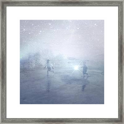 Wonder On A Starry Night Framed Print