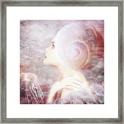 Wonder Framed Print by Jacky Gerritsen