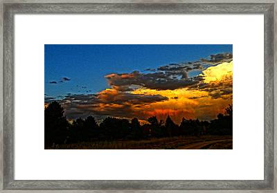 Framed Print featuring the photograph Wonder Walk by Eric Dee