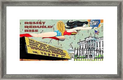 Wonder Women  Framed Print