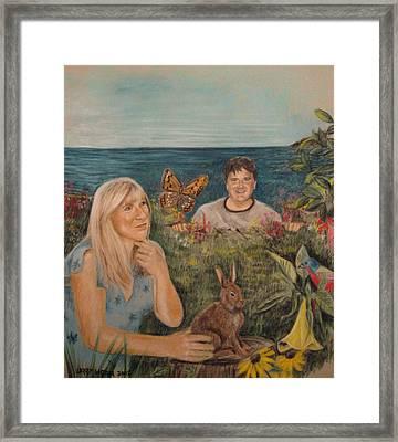 Wonder World Framed Print by Larry Whitler