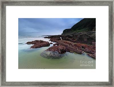 Wonderful Coastline Framed Print