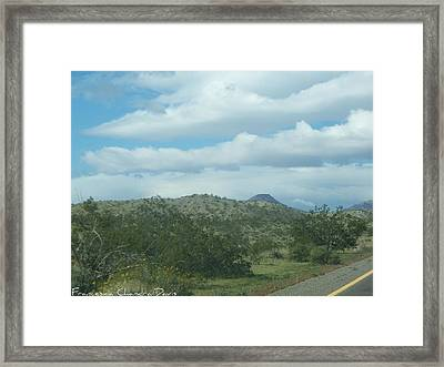 Wonderful Day Framed Print by Sacred  Muse