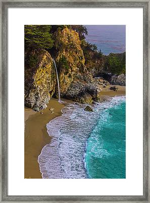 Wonderful Mcway Falls Framed Print by Garry Gay