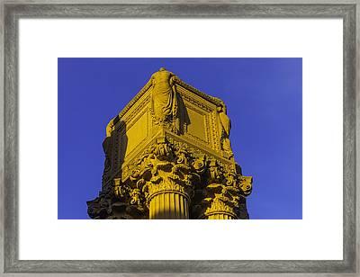 Wonderful Palace Of Fine Arts Framed Print