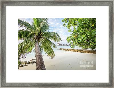 Framed Print featuring the photograph Wonderful View by Hannes Cmarits