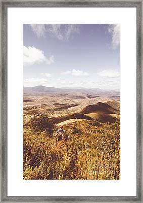 Wonderful West Coast Tasmania Views Framed Print