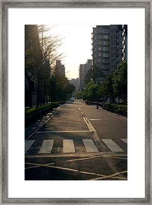 Wonderfull Day Framed Print