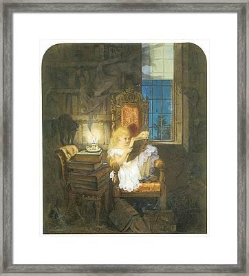 Wonderland Framed Print by Adelaide Claxton