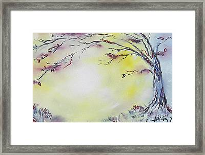 Wonderland Bliss Framed Print