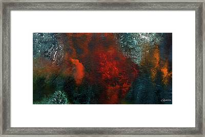 Framed Print featuring the painting Wonderland by Carmen Guedez