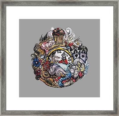 Wonderland Framed Print by Cat Paschal Dolch