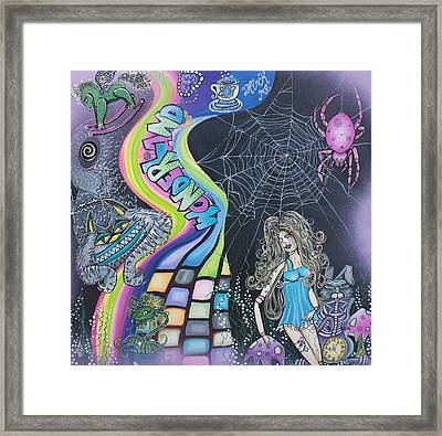 Wonderland Dreams Framed Print
