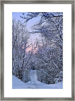 Wonderland Road Framed Print