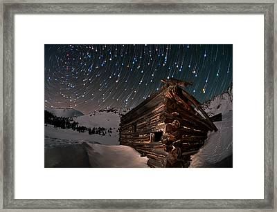 Wonders Of The Night Framed Print by Mike Berenson