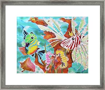 Wonders Of The Sea Framed Print