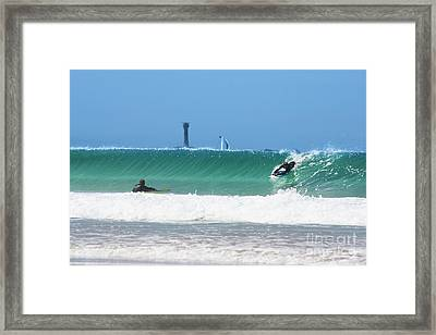 Framed Print featuring the photograph Wonderwall by Terri Waters