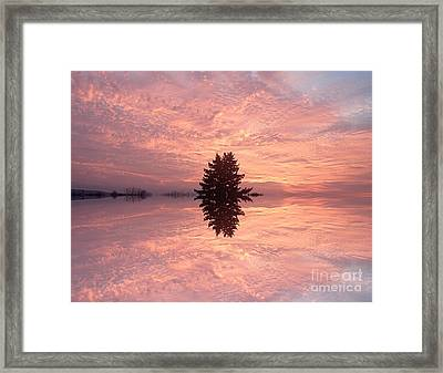 Wondrous Clouds       Framed Print