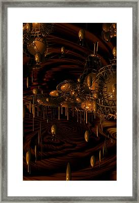 Wonky Chocolate Factory Framed Print by Phil Sadler