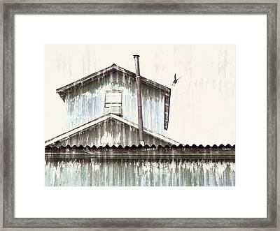 Wonky Stovepipe Industrial Art Framed Print