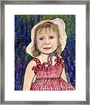 Won't You Be My Valentine? Framed Print by Kimberlee Baxter