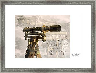 Wood And Brass Transit Framed Print by Gary Gunderson