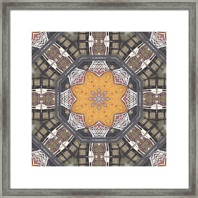 Wood And Metal 10338k8 Framed Print by Brian Gryphon