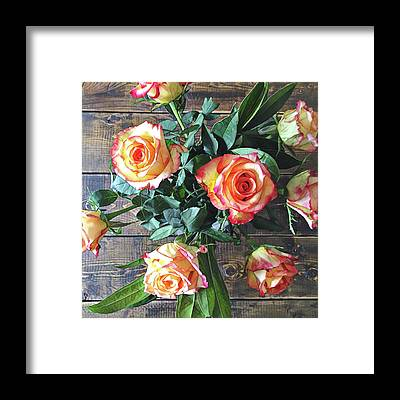 Bouquet Framed Prints