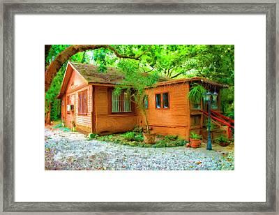 Wood Cabin Series 6335 Framed Print