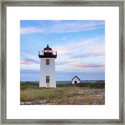 Wood End Light 2015 Framed Print by Bill Wakeley
