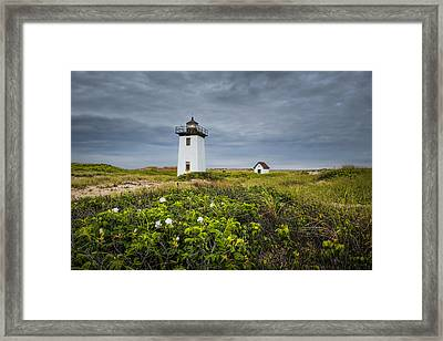 Framed Print featuring the photograph Wood End Light by Thomas Gaitley