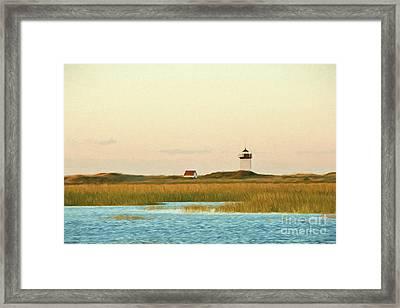 Wood End Lighthouse Framed Print