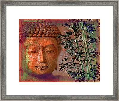 Wood Forest Buddha Framed Print