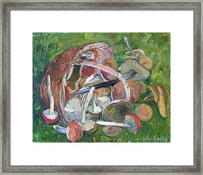 Wood Gift Framed Print