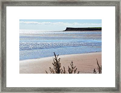 Framed Print featuring the photograph Wood Islands Beach by Kim Prowse